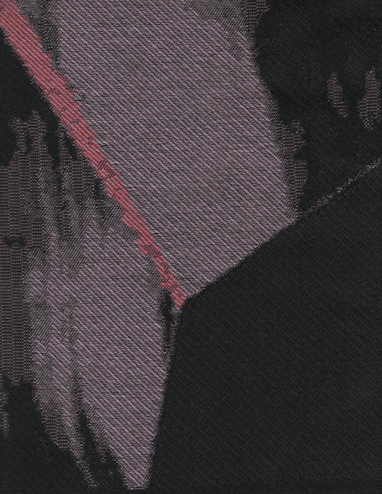Elyce Abrams No. 74 jacquard detail