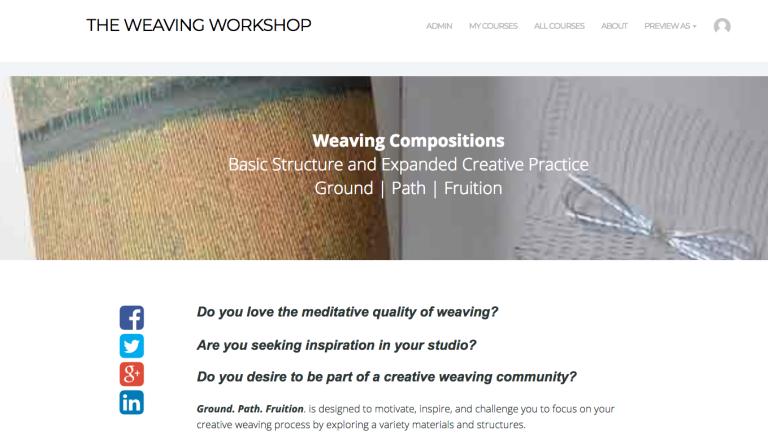 Weaving Compositions Ground Path Fruition