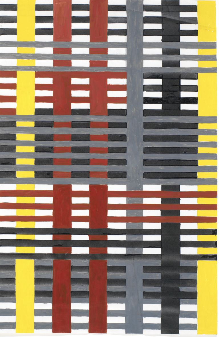 Anni Albers, Study for Unexecuted Wallhanging, 1926