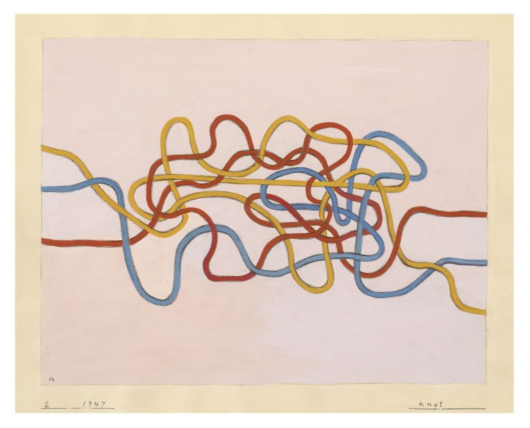 Anni Albers, Knot, 1962