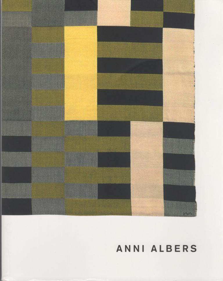Anni Albers Tate Modern Catalog Cover