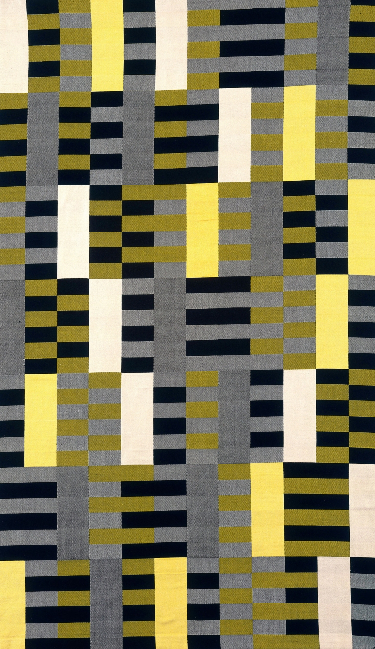 Anni Albers Black White Yellow 1926/1965
