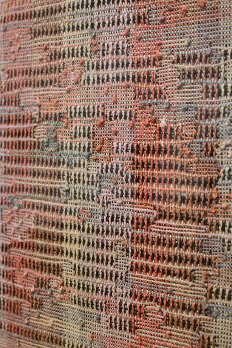 14- Anni Albers- Development in Rose II (1952) Detail