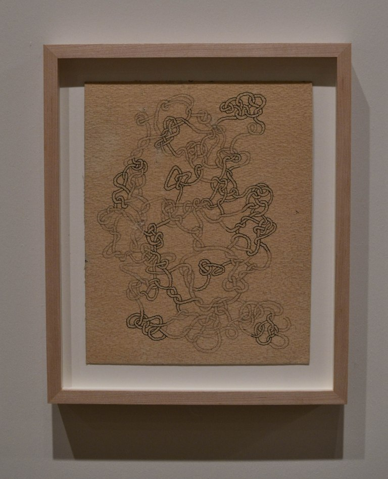 25- Anni Albers-Knot Drawing