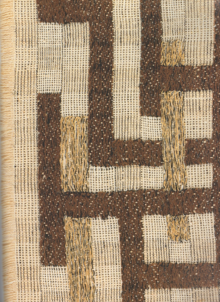 Anni Albers, Two, 1952, Detail