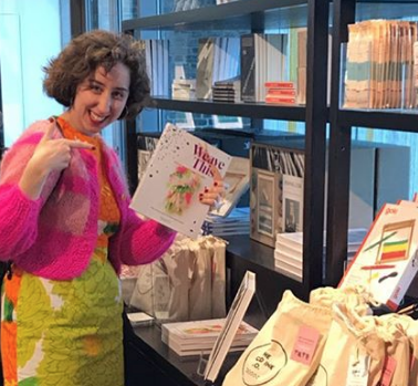 Francesca Kletz and her Book at Tate Modern Museum Store
