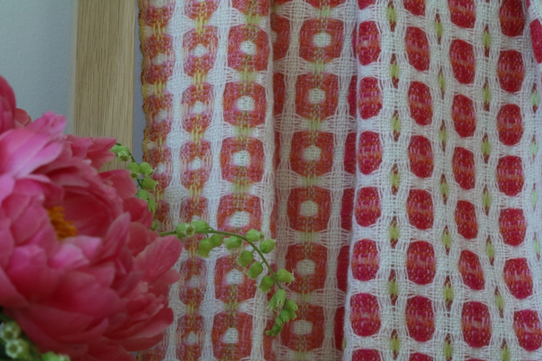 Peony Wrap in detail