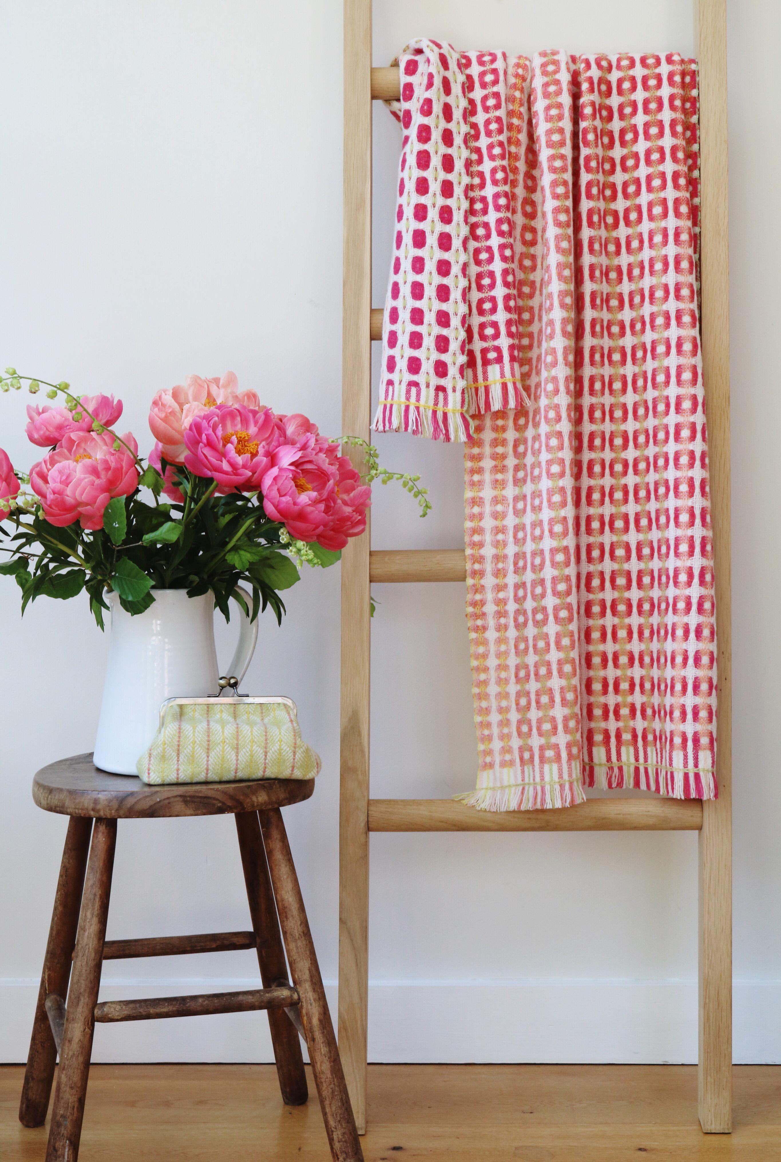 Julia Hodgson Textiles Peony Wrap